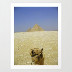 Pyramid View Art Print