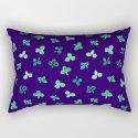 Clover Leaves Pattern on Purple by elenasim