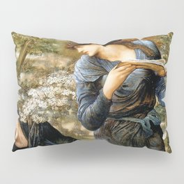 "Edward Burne-Jones ""Beguiling of Merlin"" Pillow Sham"
