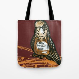 Budgie Suit Tote Bag