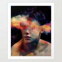 tchmo Art Prints featuring Untitled 20121008r (Brad) by tchmo
