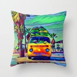 Vacation Throw Pillow
