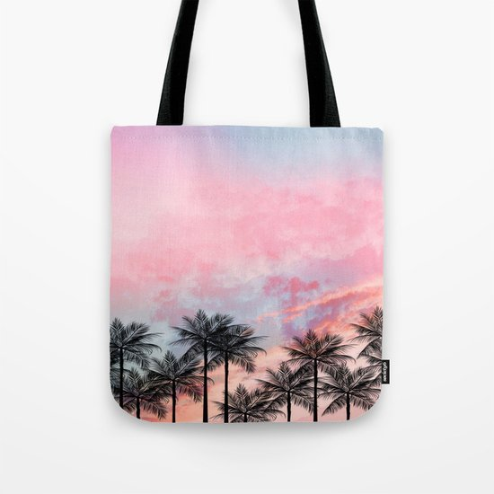 Summer Palm Tree #Society6 #Buyart #Decor Tote Bag