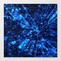 breaking Canvas Prints featuring Breaking by 13Halliwell