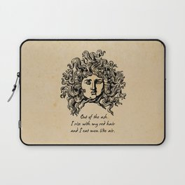 Sylvia Plath - Lady Lazarus Laptop Sleeve