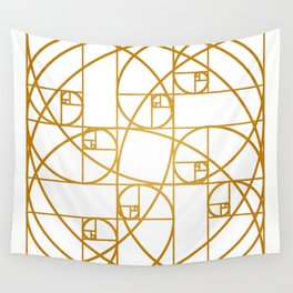 Golden Ropes Wall Tapestry