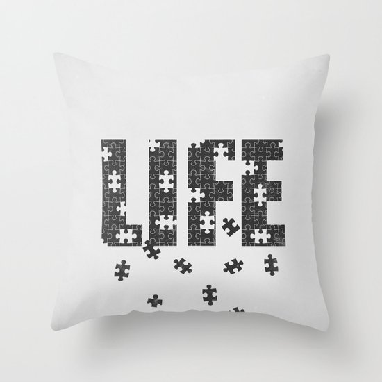 Lets Play a Game Throw Pillow