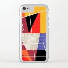 ColorBlock VII Clear iPhone Case