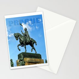 Prague Good King Vaclav Stationery Cards