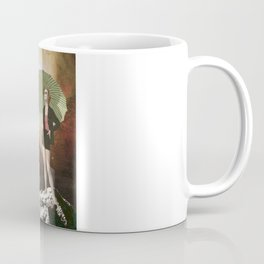 Lady in Space I Coffee Mug