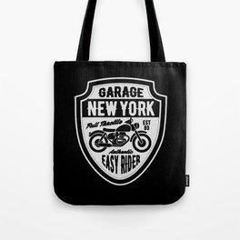 garage new york full trotlle Tote Bag