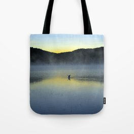 Perfect Landing (Sunrise, Lake George) Tote Bag