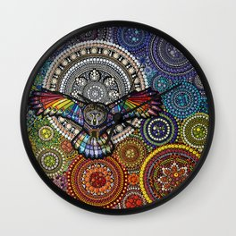 From Out of the Moonlight Wall Clock