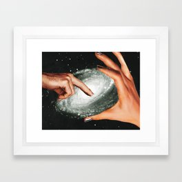 Cosmic Dimension Framed Art Print