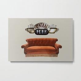 Central Perk Metal Print