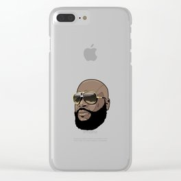 Rick Ross Cool Clear iPhone Case