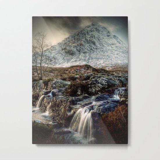 The Buachaille Etive Mor, Scotland Metal Print