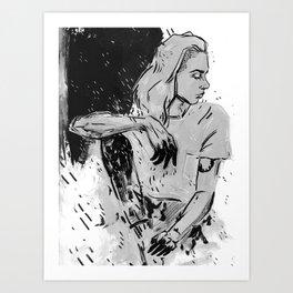 grey lynn Art Print