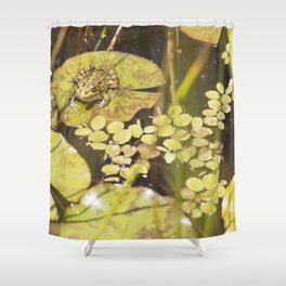 frogger... Shower Curtain