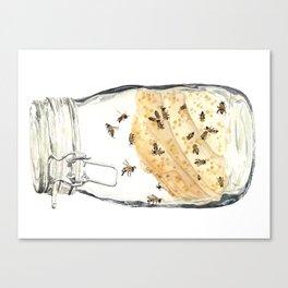 Captives: The Bee Jar Canvas Print