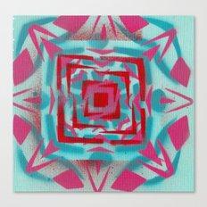 Pinkstarredbox Canvas Print