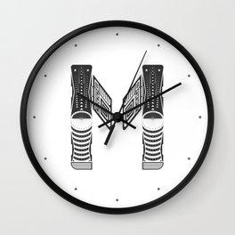 """Tao """"Letter M"""" Wall Clock"""