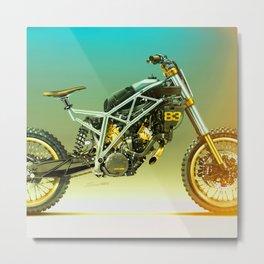 Moto 23 Metal Print
