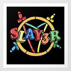 Slayer—For Kids! Art Print