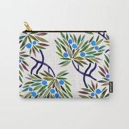 Bonsai Fruit Tree – Blue Palette Carry-All Pouch