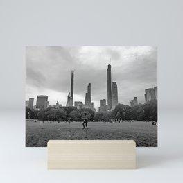 Sheep Meadow, Central Park Mini Art Print