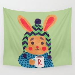 Winter Season is Coming (Rabbit Version) Wall Tapestry
