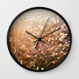 Desert Brush Wall Clock