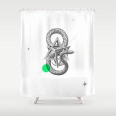 Archetypes Series: Rebirth Shower Curtain
