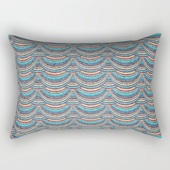 Geometric Pattern XI Rectangular Pillow