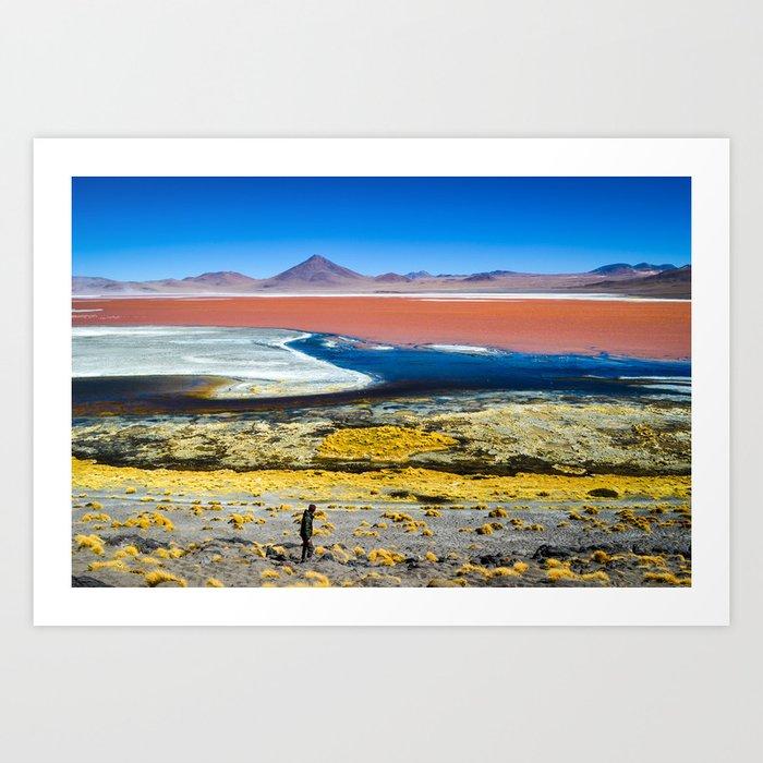 Laguna Colorada Art Print