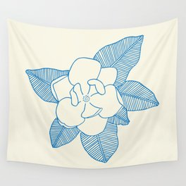 Magnolia Flower Wall Tapestry