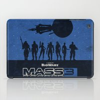 mass effect iPad Cases featuring Mass Effect 3 by Bill Pyle