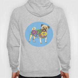 The Pugster (Blue) Hoody