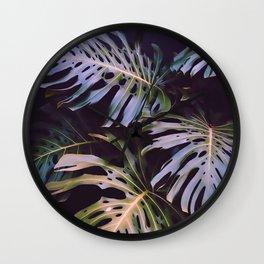 Night tropics Wall Clock