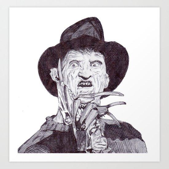 krueger Art Print