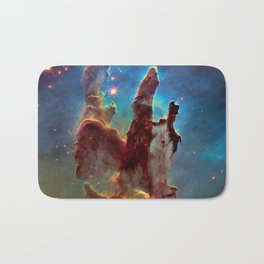 picture of star by hubble : pilliers of the creation. Bath Mat