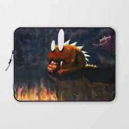 Dino Monster Design Laptop Sleeve