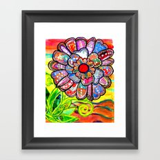 Florem Terrae Bright Framed Art Print