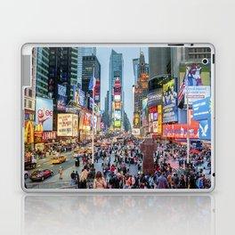 Times Square Tourists Laptop & iPad Skin