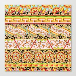 Gypsy Caravan Luxe Stripe Canvas Print