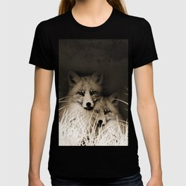 Fox and love T-shirt