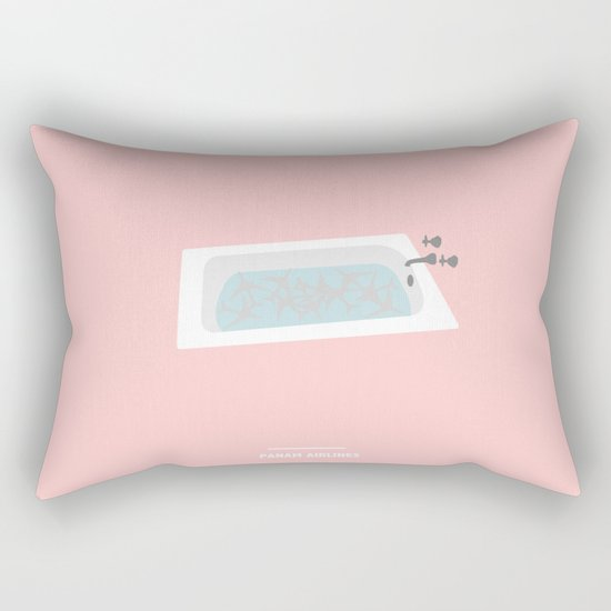 PANAM AIRLINES ( Catch Me If You Can ) Rectangular Pillow