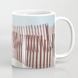 Beach Fence Coffee Mug