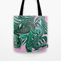 palms Tote Bags featuring Palms by Katekima