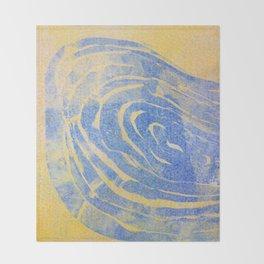 Thumb Print II Throw Blanket